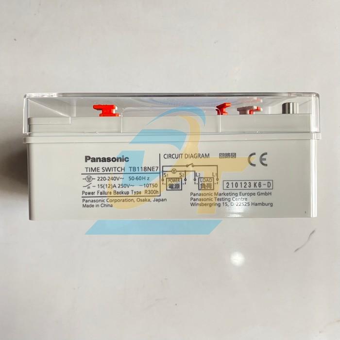 Công tắc đồng hồ hẹn giờ 220-240V Panasonic TB 118NE7V TB 118NE7V Panasonic | Giá rẻ nhất - Công Ty TNHH Thương Mại Dịch Vụ Đạt Tâm