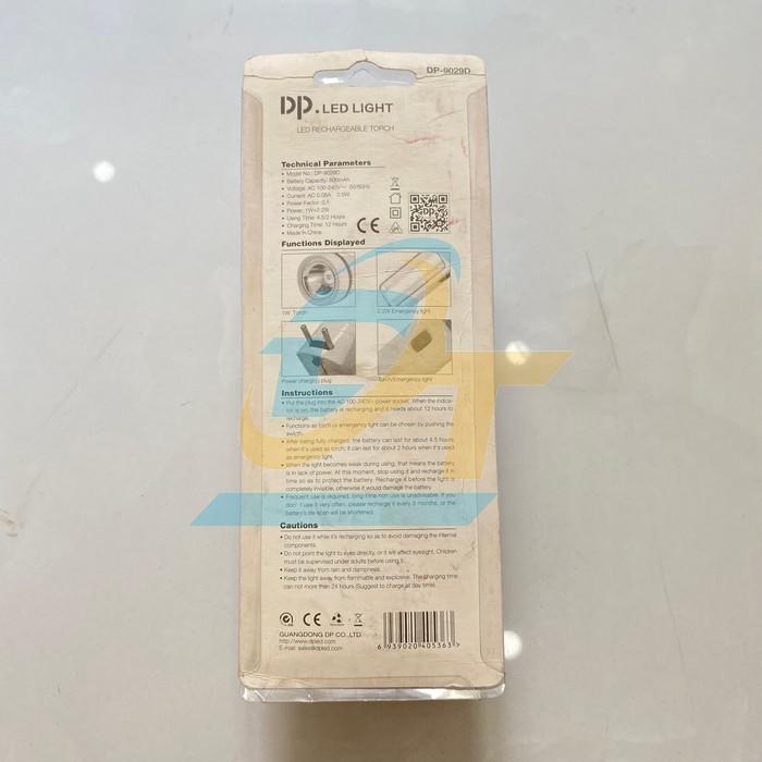 Đèn pin Led sạc cầm tay 2 chế độ sáng DP-9029D DP-9029D China | Giá rẻ nhất - Công Ty TNHH Thương Mại Dịch Vụ Đạt Tâm
