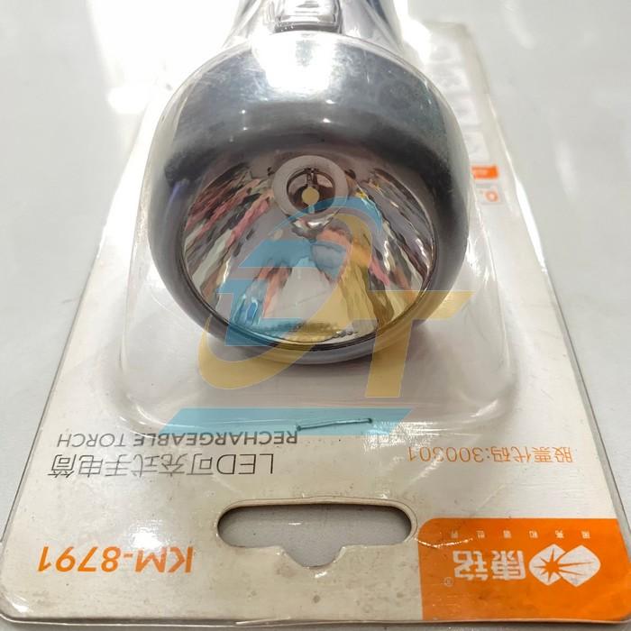 Đèn pin sạc KM-8791 KM-8791 China | Giá rẻ nhất - Công Ty TNHH Thương Mại Dịch Vụ Đạt Tâm