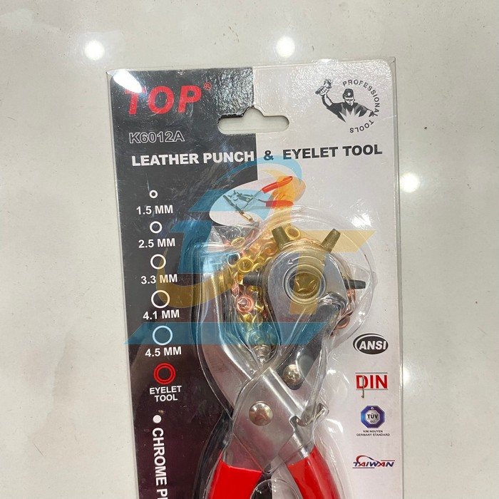 Kìm bấm lỗ dây nịt có đinh TOP K6012A K6012A Top   Giá rẻ nhất - Công Ty TNHH Thương Mại Dịch Vụ Đạt Tâm