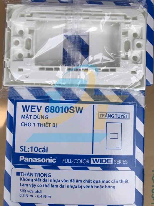 Mặt 1 thiết bị WEV68010SW Panasonic WEV68010SW Panasonic | Giá rẻ nhất - Công Ty TNHH Thương Mại Dịch Vụ Đạt Tâm
