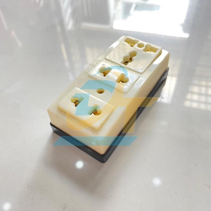 Ổ cắm 3 lỗ SOPOKA T32 T32 Sopoka | Giá rẻ nhất - Công Ty TNHH Thương Mại Dịch Vụ Đạt Tâm