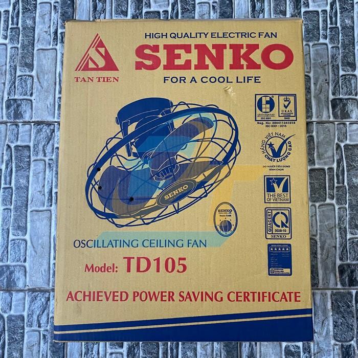 Quạt đảo trần Senko TD105 TD105 Sankyo | Giá rẻ nhất - Công Ty TNHH Thương Mại Dịch Vụ Đạt Tâm