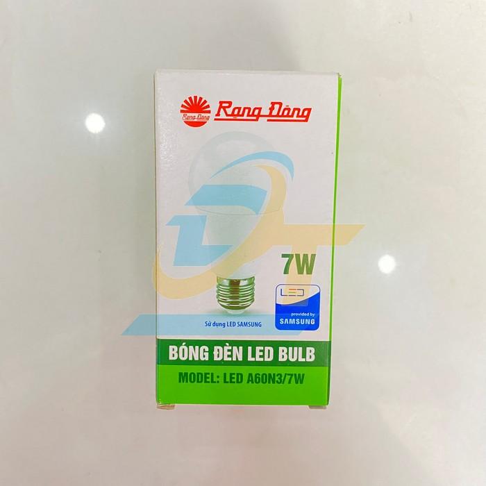 Bóng đèn LED Bulb 7W Rạng Đông A60N3/7W A60N3/7W RangDong | Giá rẻ nhất - Công Ty TNHH Thương Mại Dịch Vụ Đạt Tâm