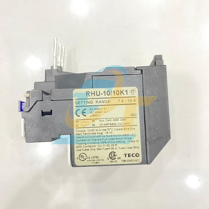 Rơ le nhiệt TECO RHU-10/10K1 RHU-10/10K1 Teco   Giá rẻ nhất - Công Ty TNHH Thương Mại Dịch Vụ Đạt Tâm
