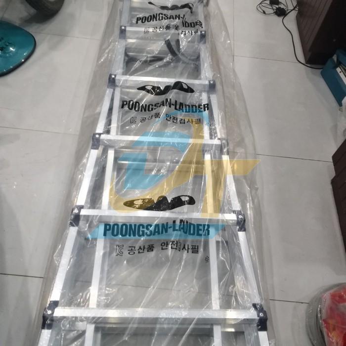 Thang nhôm chữ A Poongsan PS-46 PS-46 POONGSAN   Giá rẻ nhất - Công Ty TNHH Thương Mại Dịch Vụ Đạt Tâm