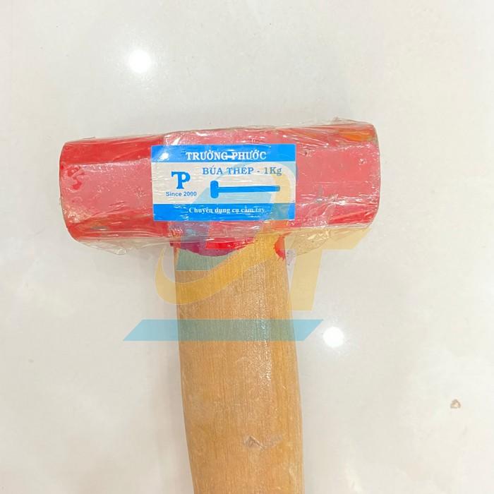 Búa thép cán gỗ 1kg Trường Phước  TruongPhuoc   Giá rẻ nhất - Công Ty TNHH Thương Mại Dịch Vụ Đạt Tâm