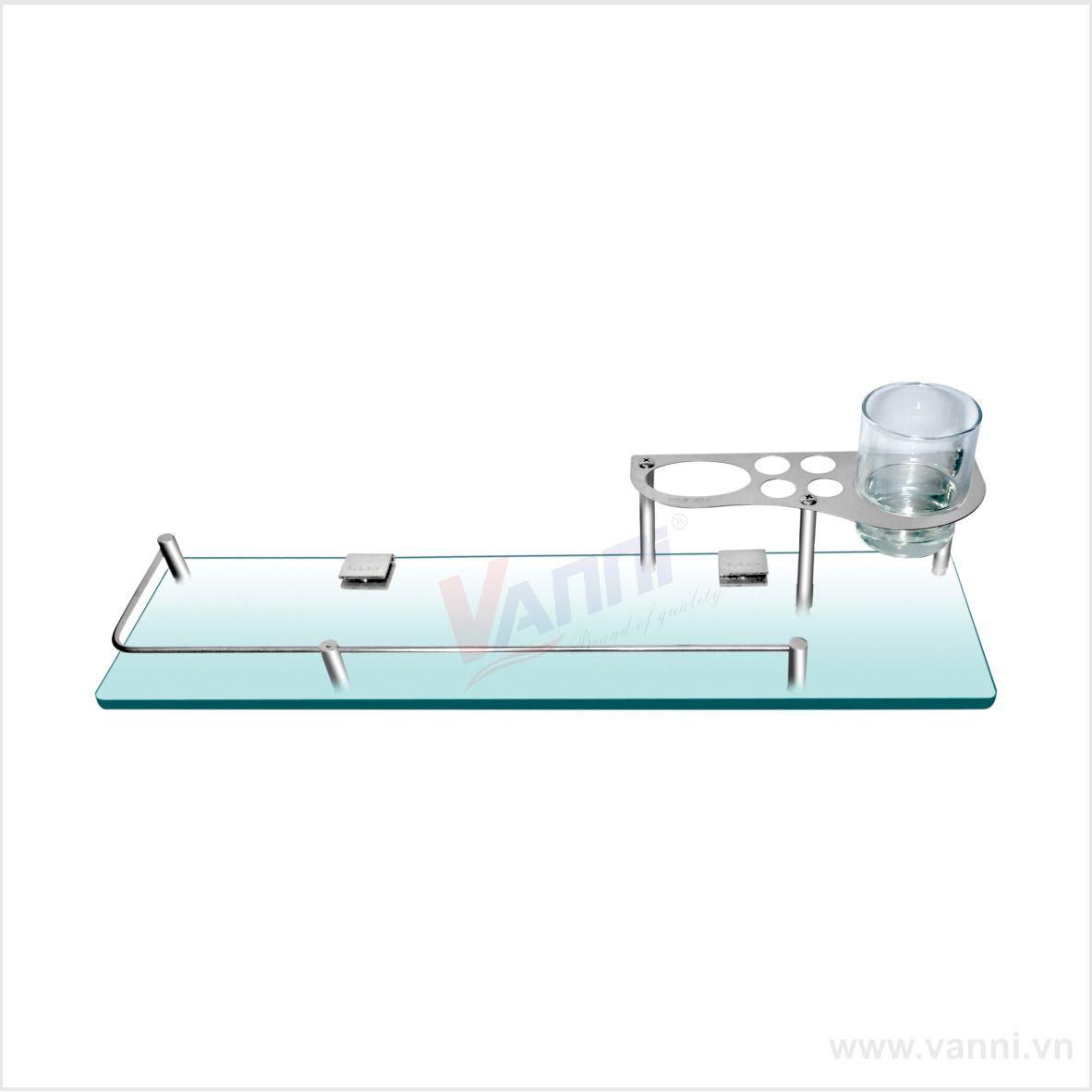 Kệ kính inox 304 VN-03 Vanni  Vanni | Giá rẻ nhất - Công Ty TNHH Thương Mại Dịch Vụ Đạt Tâm