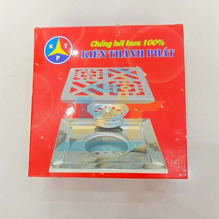 Phễu thoát sàn chống hôi inox 150x150mm phi 90 Kiên Thành Phát  KienThanhPhat   Giá rẻ nhất - Công Ty TNHH Thương Mại Dịch Vụ Đạt Tâm