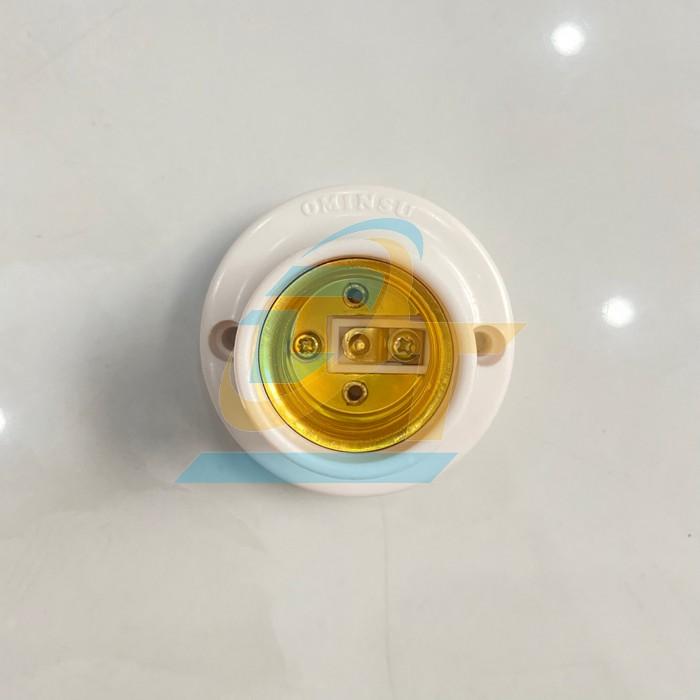 Đui đèn gắn tường thẳng E27 Ominsu  Ominsu   Giá rẻ nhất - Công Ty TNHH Thương Mại Dịch Vụ Đạt Tâm