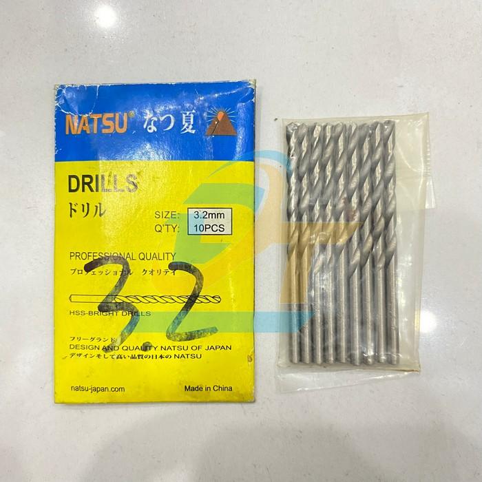 Mũi khoan sắt 3.2mm Nastu  Nastu | Giá rẻ nhất - Công Ty TNHH Thương Mại Dịch Vụ Đạt Tâm
