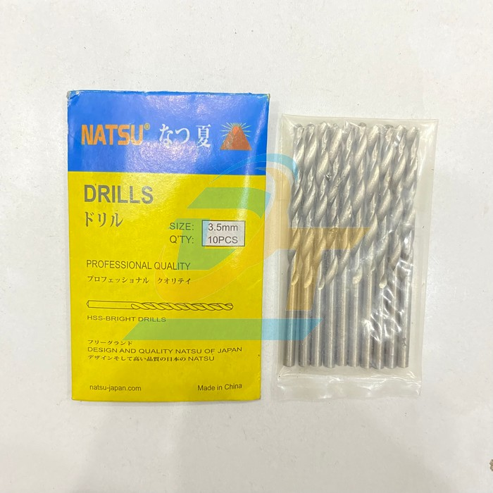 Mũi khoan sắt 3.5mm Nastu  Nastu | Giá rẻ nhất - Công Ty TNHH Thương Mại Dịch Vụ Đạt Tâm