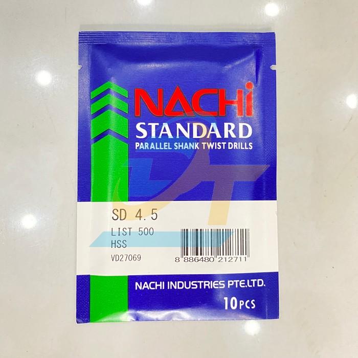 Mũi khoan sắt 4.5mm Nachi  Nachi | Giá rẻ nhất - Công Ty TNHH Thương Mại Dịch Vụ Đạt Tâm