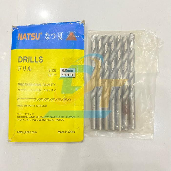 Mũi khoan sắt 6mm Nastu  Nastu | Giá rẻ nhất - Công Ty TNHH Thương Mại Dịch Vụ Đạt Tâm