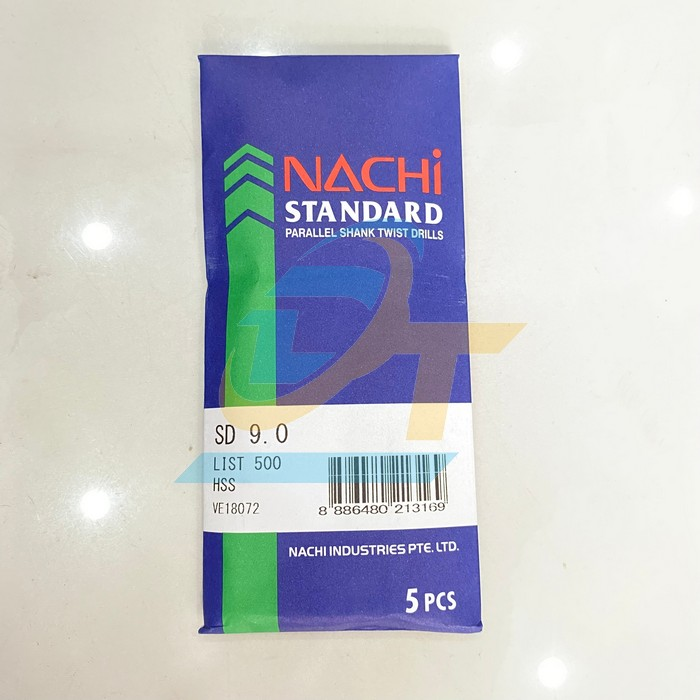 Mũi khoan sắt 9mm Nachi  Nachi | Giá rẻ nhất - Công Ty TNHH Thương Mại Dịch Vụ Đạt Tâm