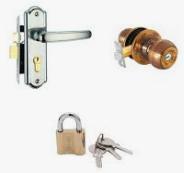 Ổ khóa, chốt cửa và phụ kiện