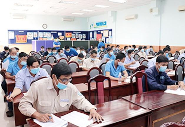 Hội thi bàn tay vàng công nhân ngành cấp nước TPHCM